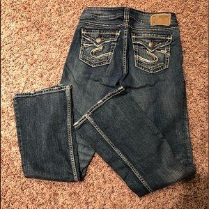 Silver Suki Bootcut women's Jeans